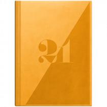 Ежедневник датированный Стандарт 2021 Torino Trend, желт.
