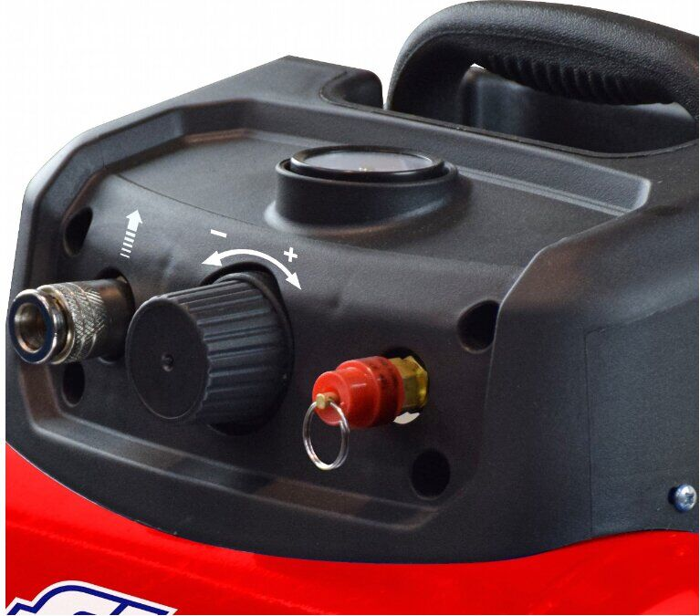 Безмасляный компрессор поршневой прямоприводный CUBY 6/1100 FIAC (ресивер 6 л, пр-сть 160 л/мин) FIAC - фото 2
