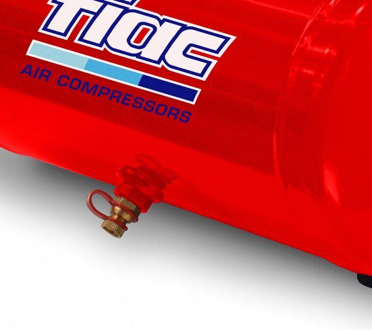 Безмасляный компрессор поршневой прямоприводный CUBY 6/1100 FIAC (ресивер 6 л, пр-сть 160 л/мин) FIAC - фото 3