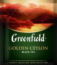 Чай черный классический Golden Ceylon 100пак. по 2гр., термосаше, в пакете