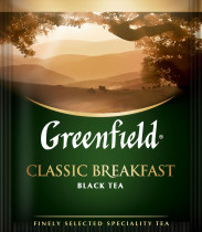 Чай черный классический Classic Breakfast 100пак. по 2гр., термосаше, в пакете