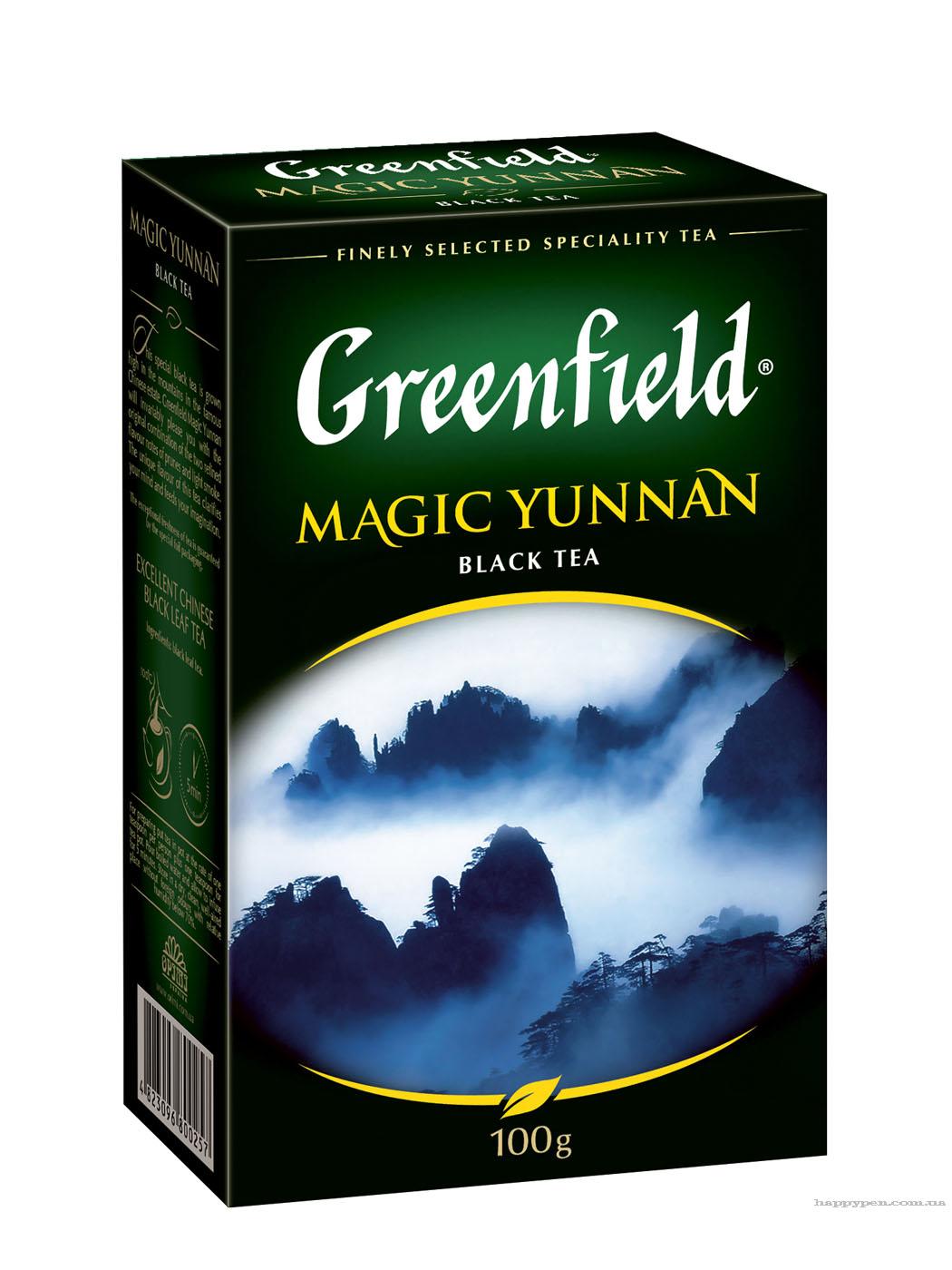 Чай черный классический Magic Yunnan 100гр. Greenfield - фото 1