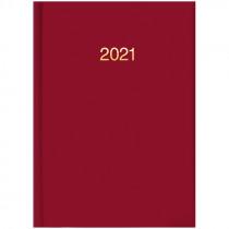 Ежедневник датированный карманный 2021 Miradur trend, красн.
