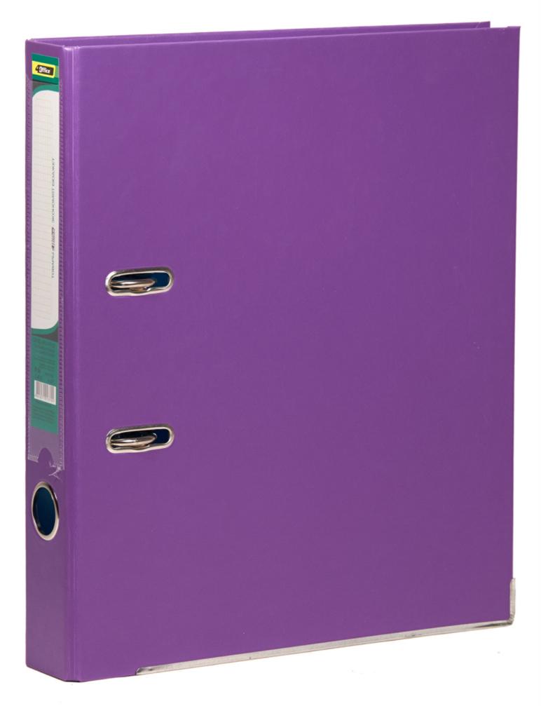 Регистратор 5см. А4 (PVC) односторонний, фиолет. 4Office - фото 1