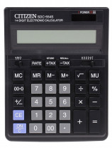 Калькулятор бухгалтерский SDC-554S 14 разрядов, 200х150х25мм., черн.