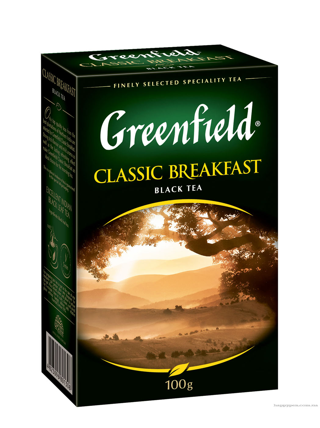 Чай черный классический Classic Breakfast 100гр. Greenfield - фото 1