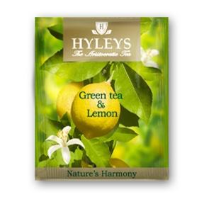 Чай Гармонія природи, зелёный с лимоном, 25пак. по 1,5гр., пакетик в фольге Hyleys - фото 2