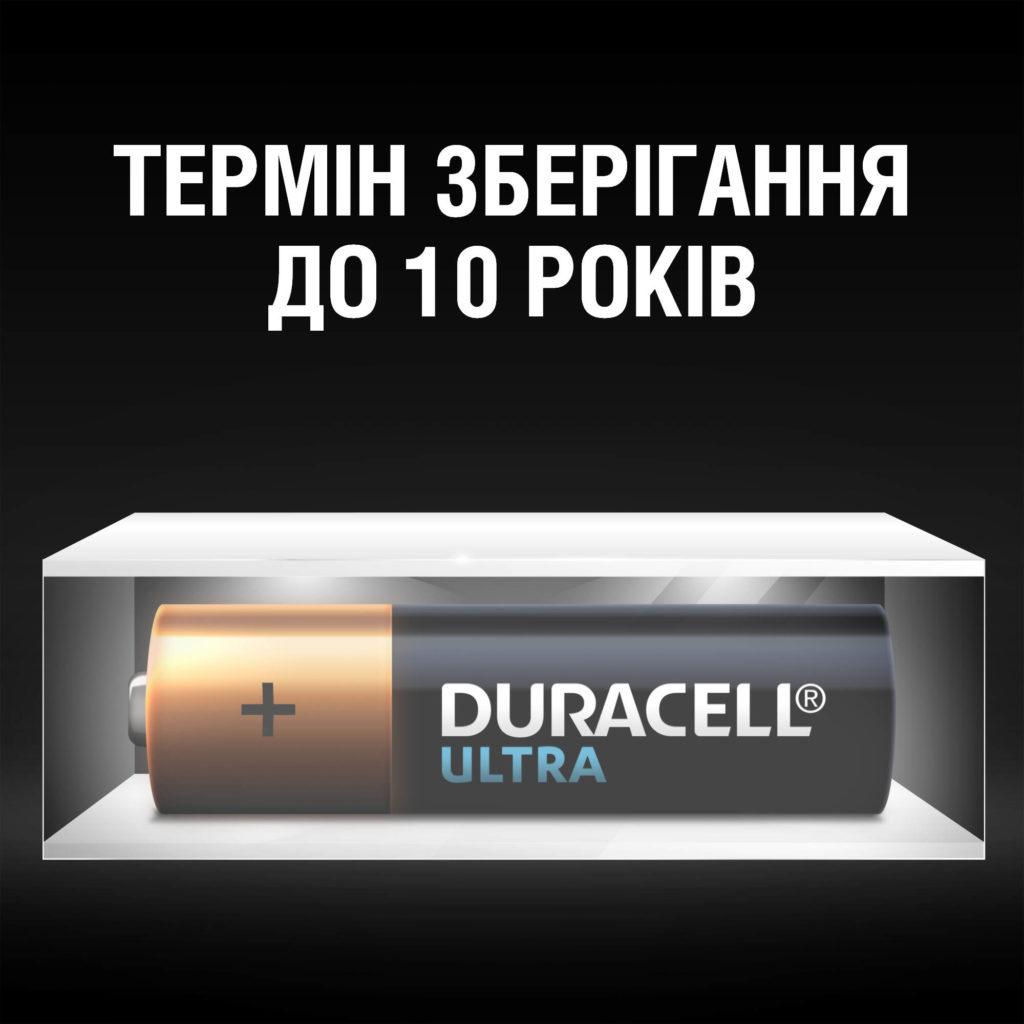 Батарейка LR03 (ААА) ULTRA, 2шт./уп. Duracell - фото 5