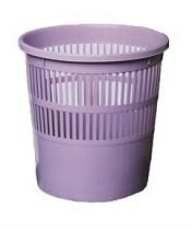 Корзина для бумаг 8л. пластиковая, фиолет.