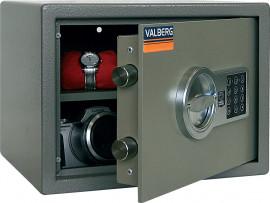 Сейф (250*340*280мм.), ключевой замок+электронный кодовый замок