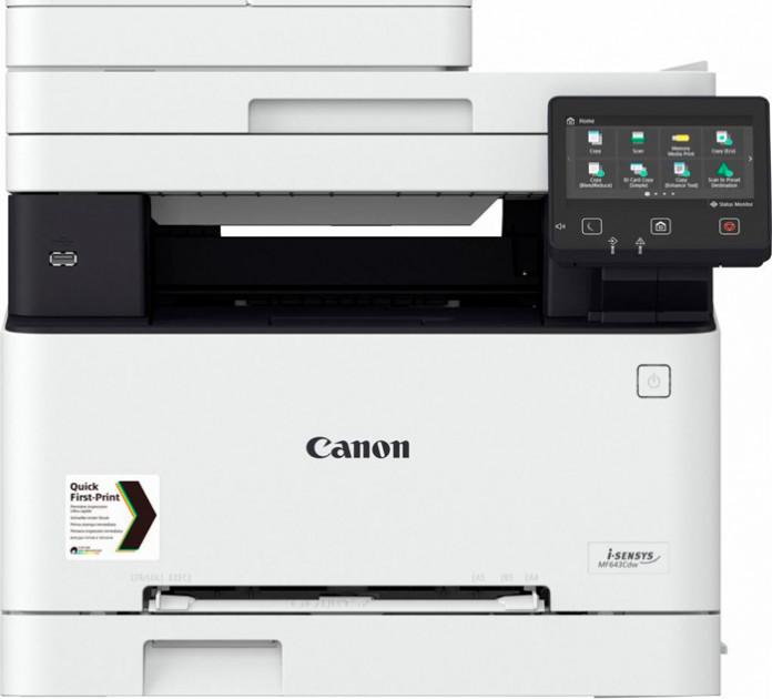 МФУ формат А4, цветная лазерная печать, Canon i-SENSYS MF-643Cdw (3102C008) Canon - фото 1