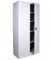Шкаф канцелярский архивный 4полки, 2 двери, (1970*900*455см.) метал., ключесвой замок