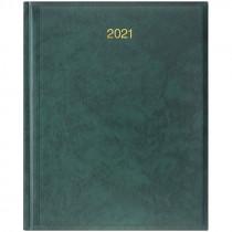 Еженедельник датированный Бюро 2021 Miradur, золот. тиснение, зелен.