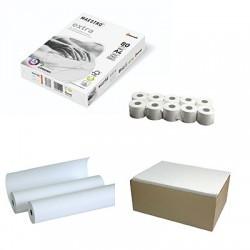 Бумага для печати и касовая лента