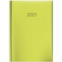 Ежедневник датированный карманный 2021 Torino, слепое тиснение, салат.