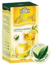 Чай травяной Лимон и имбирь 20пак. по 2гр.