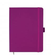 Книга записная Partner А5, 96л., кл., пурпур.