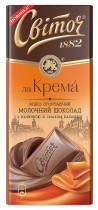 Шоколад молочный Ла Крема Карамель 90гр.