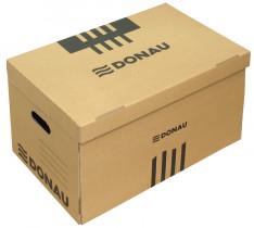 Контейнер для архивных коробок с верхней загрузкой 6шт. по 80мм. или 5шт. по 100мм., коричн.