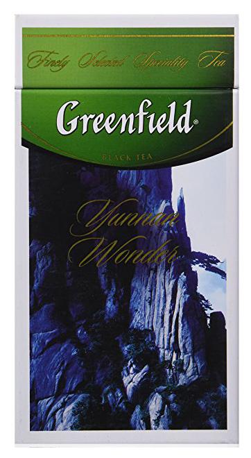 Чай черный классический Yunnan Wonder 125гр., жестяная банка Greenfield - фото 1