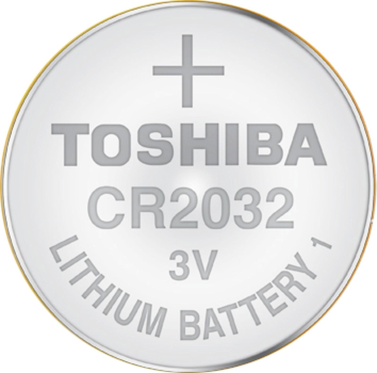 Батарейка CR2032 (DL2032) 3V Toshiba - фото 1