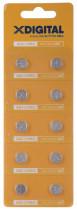 Батарейка AG3 (384, 392, 194, LR736, L736, GP192, V36A), 1,5V, 10шт./уп.