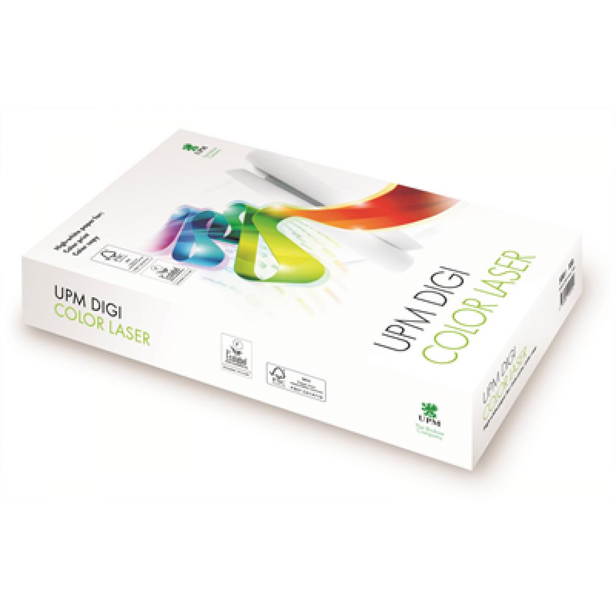 Бумага Digi Color Laser A4 300гр./м2., 125листов UPM - фото 1