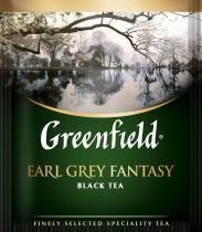 Чай черный ароматизированный Earl Grey Fantasy 100пак. по 2гр., термосаше, в пакете