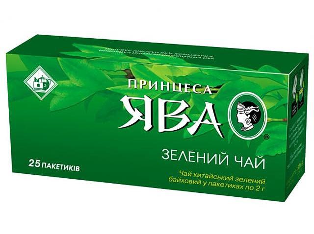 Чай зеленый классический 25пак. по 2гр. Принцесса Ява - фото 1