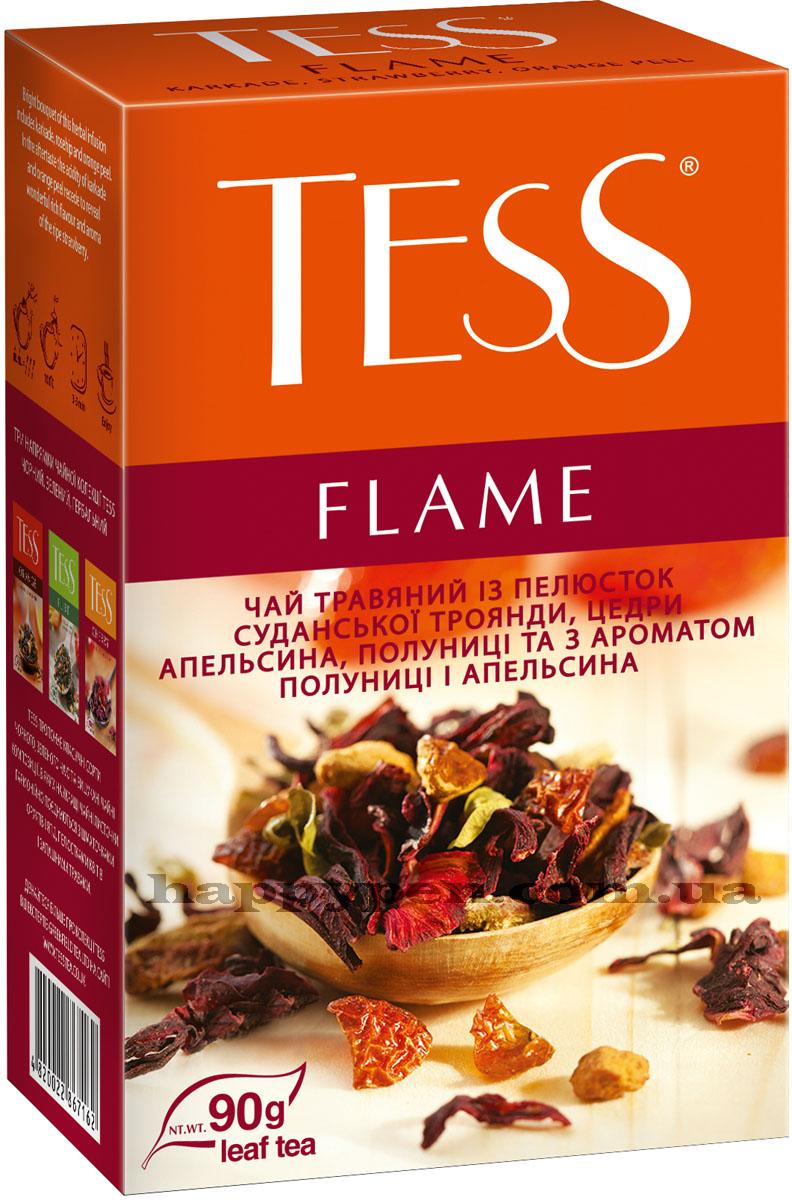 Чай травяной ароматизированный Flame 90гр. Tess - фото 2