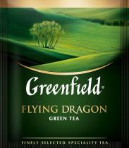 Чай зеленый классический Flying Dragon 100пак. по 2гр., термосаше, в пакете
