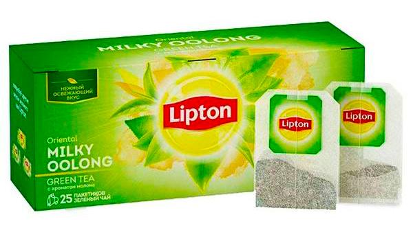 Чай зеленый байховый Oriental Milky Oolong 25пак по 2г Lipton - фото 1