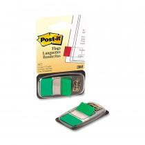 Закладки Post-it INDEX 25,4*43,2мм., 50 листов, зелен.