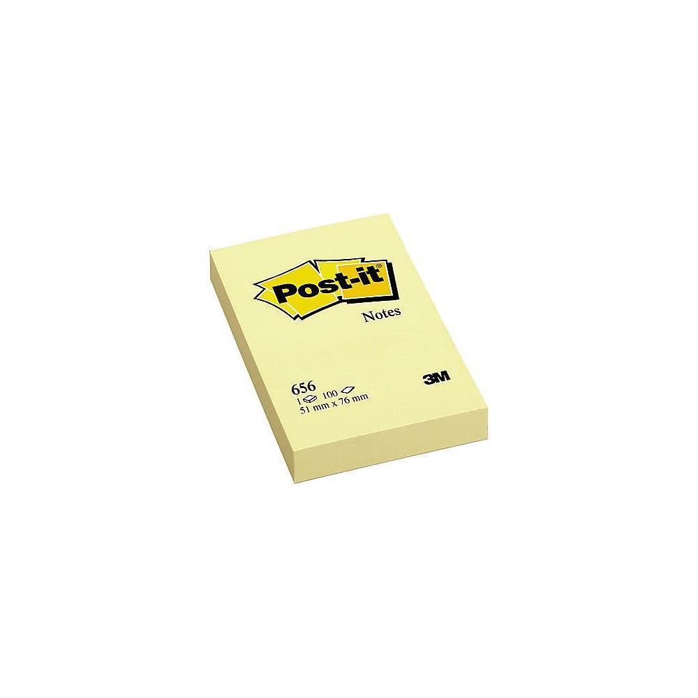 Блок post-it 51*76мм.*100 листов желт. 3M - фото 1