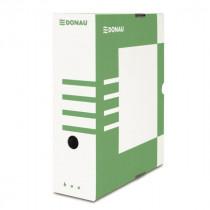 Коробка архивная А4 100мм., зелен.