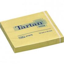Блок post-it 76*76мм.*100 листов Tartan желт.