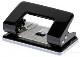 Дырокол малый 10л., металлический, с фиксатором, черн.