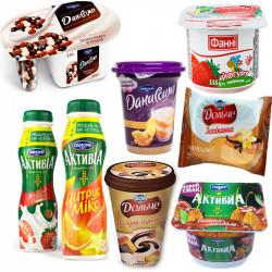 Йогурт, творог, десерты