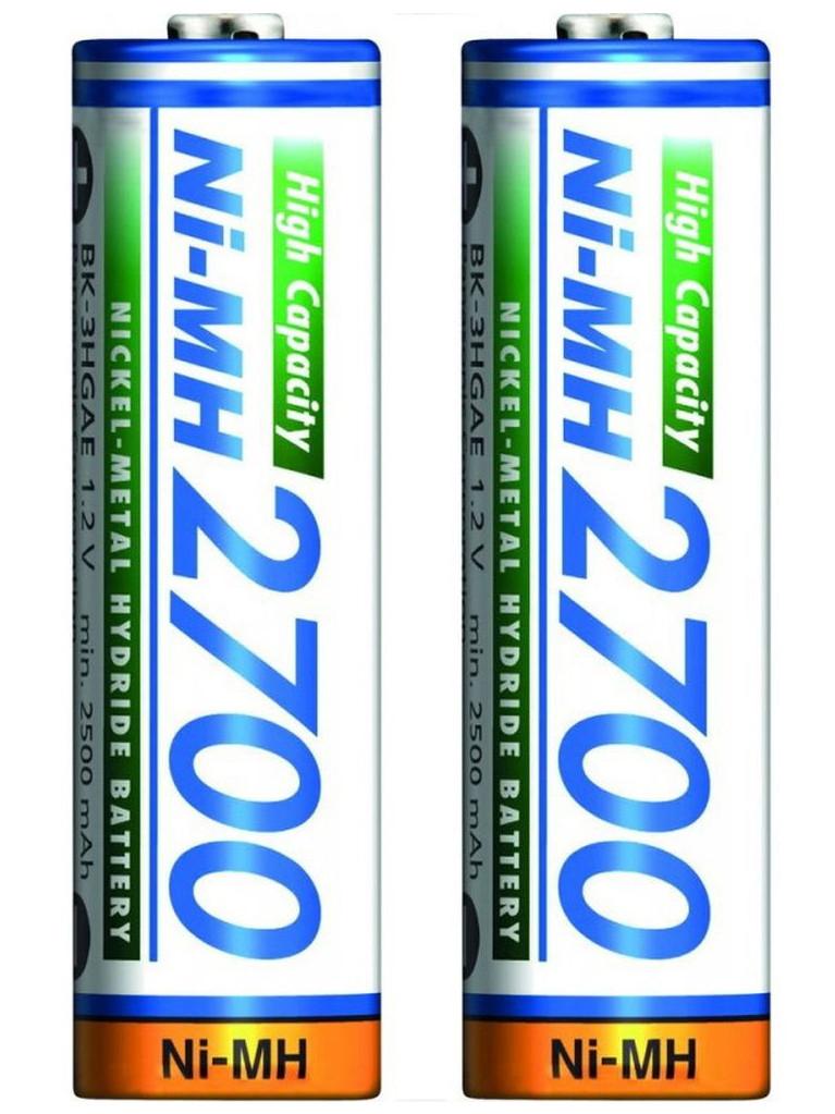 Аккумулятор AA 2700mAh NiMh., 2шт./уп. Panasonic - фото 4