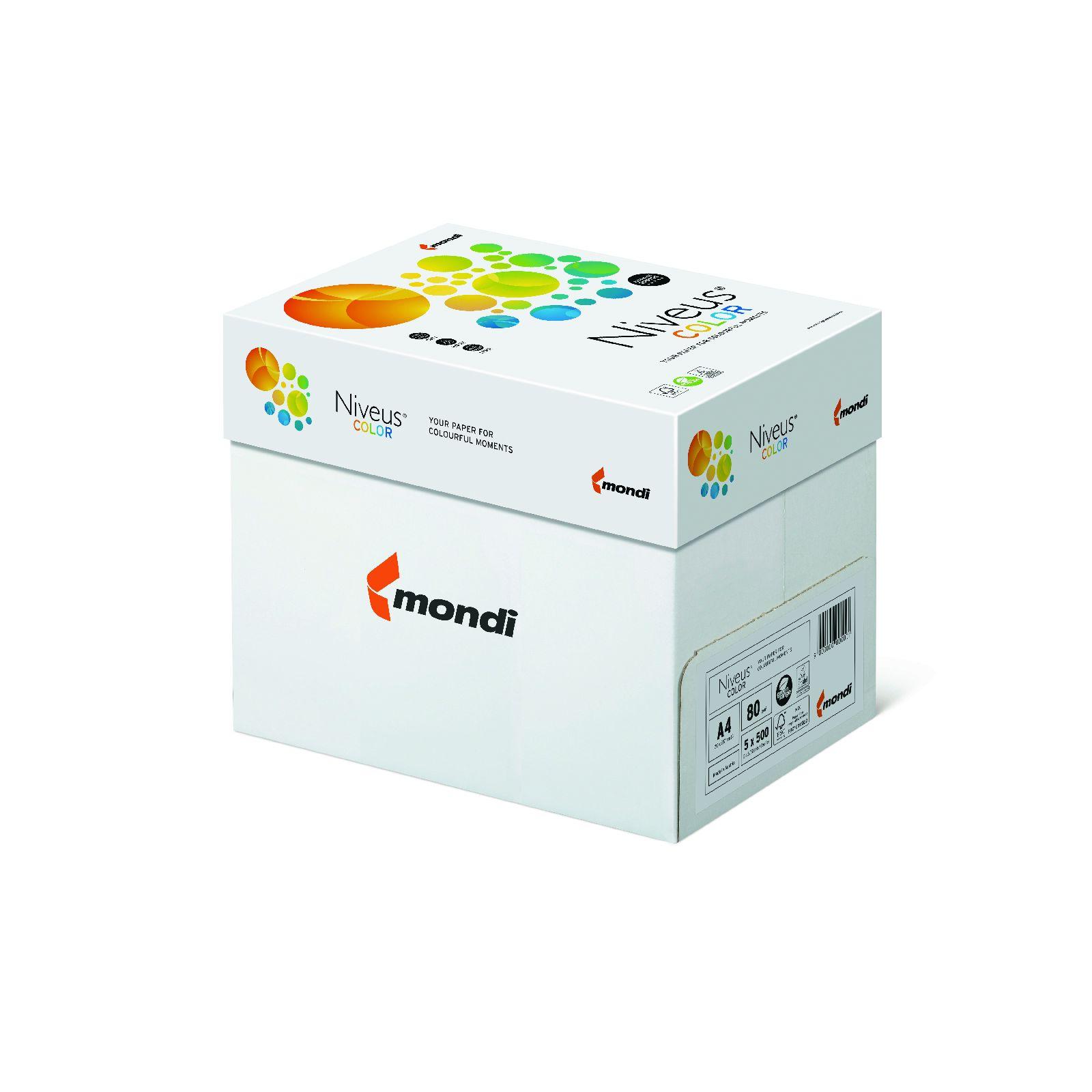 Бумага цветная Color A4 интенсив 80гр./м2, 500лист., SY40 sun yellow, темно-желт. Mondi - фото 4
