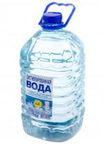 Вода дистилированая 5л.