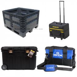 Сумки, ящики, контейнеры для инструментов