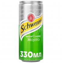 Вода Швепс Мохито 0,33л., 12шт./уп., жестяная банка