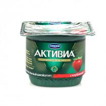 "Бифидойогурт ""Активия"" Клубника, 135г., 2,9%"