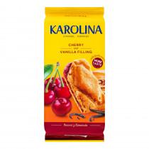 Печенье KAROLINA с вишнево-ванильной начинкой, 168г.