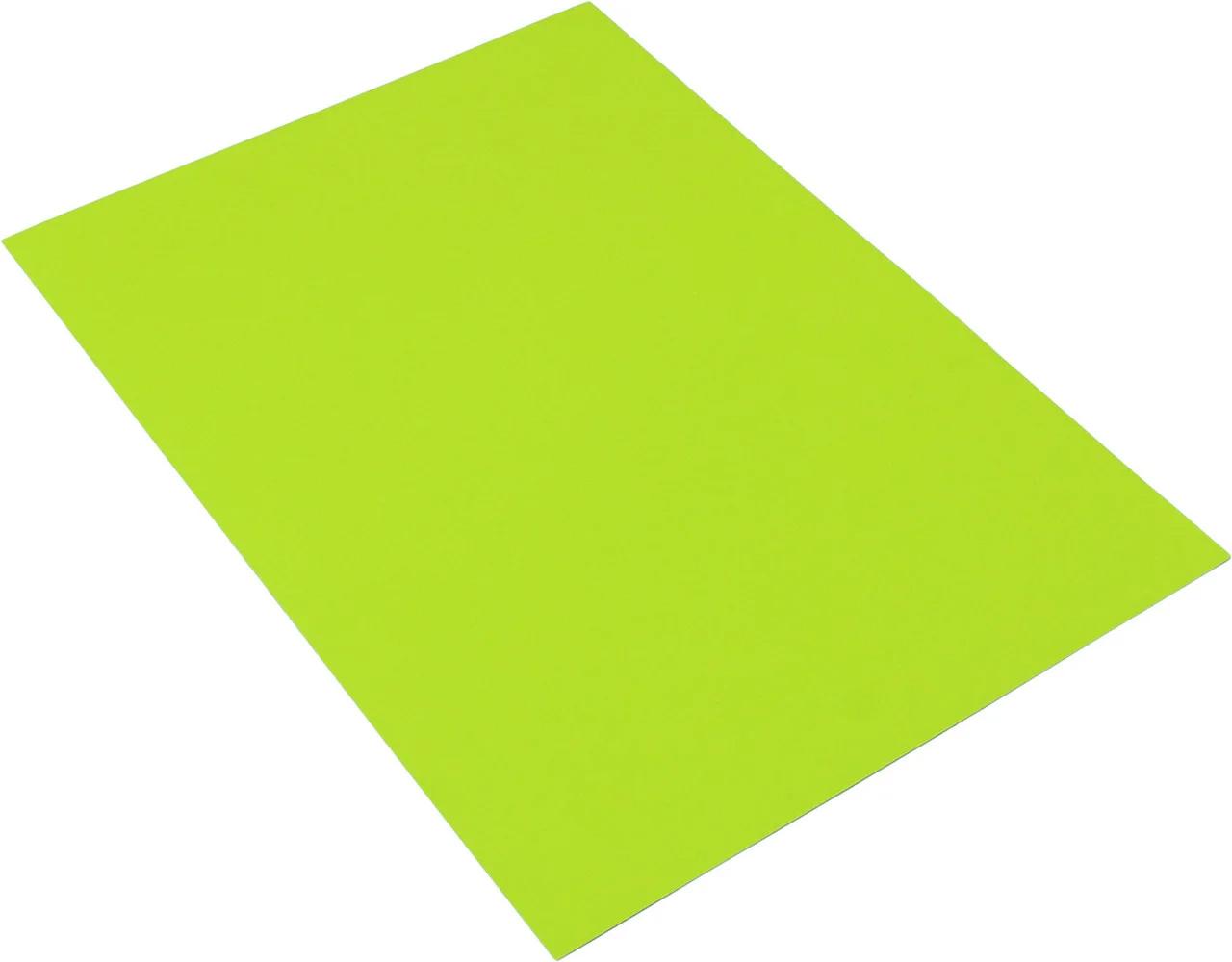 Бумага цветная Color Cyber A4 неон 80гр./м2. Green, 100листов, зелен. Spectra Color - фото 2