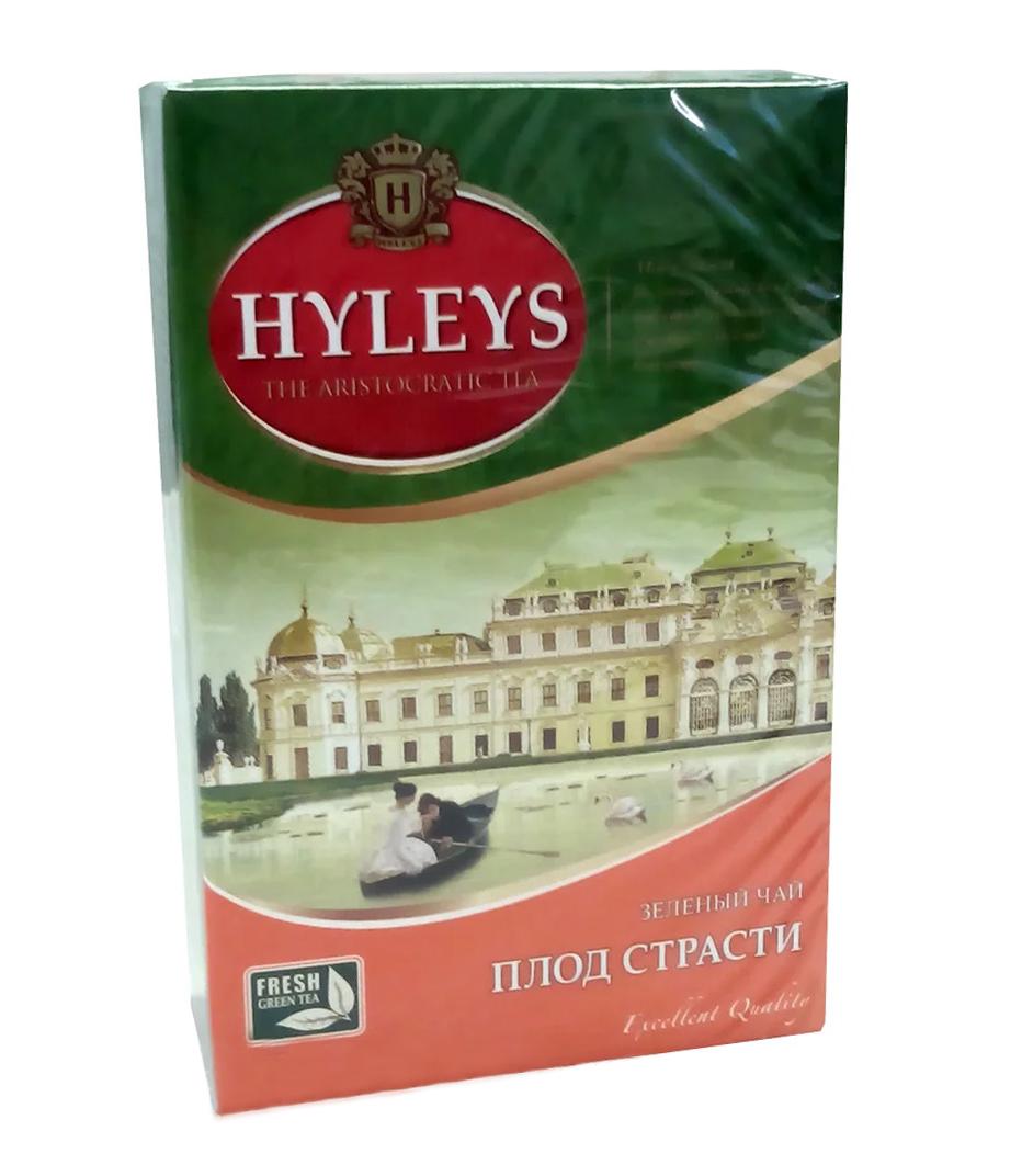 Чай зеленый ароматизированный Плод страсти 100гр. Hyleys - фото 1
