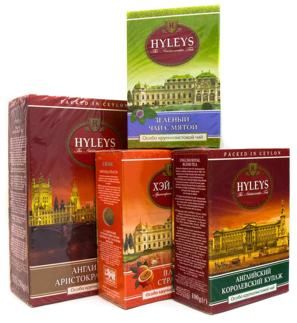 Чай зеленый ароматизированный Плод страсти 100гр. Hyleys - фото 2