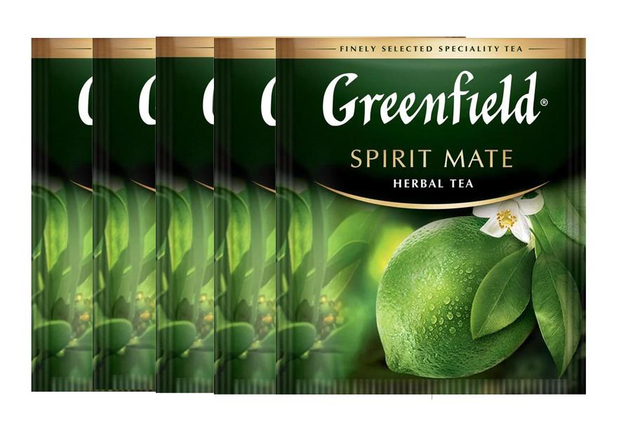 Чай травяной Spirit Mate 100пак. по 2гр., термосаше, в пакете Greenfield - фото 2