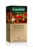 Чай травяной Wildberry Rooibust 100пак. по 2гр., термосаше, в пакете